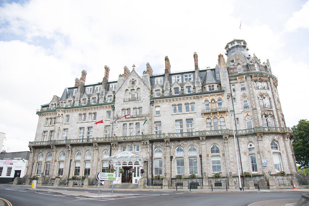 The Duke of Cornwall Hotel  has been host to luxury events for over 150 years