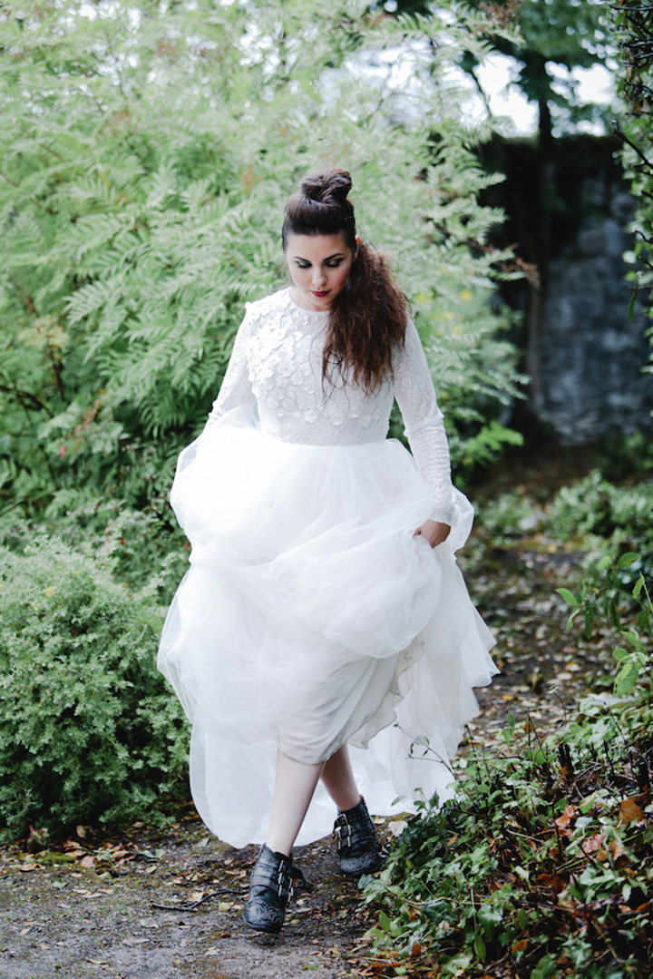 Dress: Amy by Milamira from  Rock the Frock  stockist  The Wedding Hub