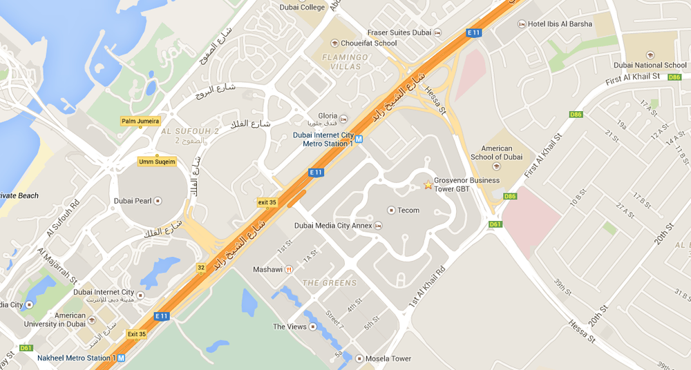 Dubai Office_Location Map: View
