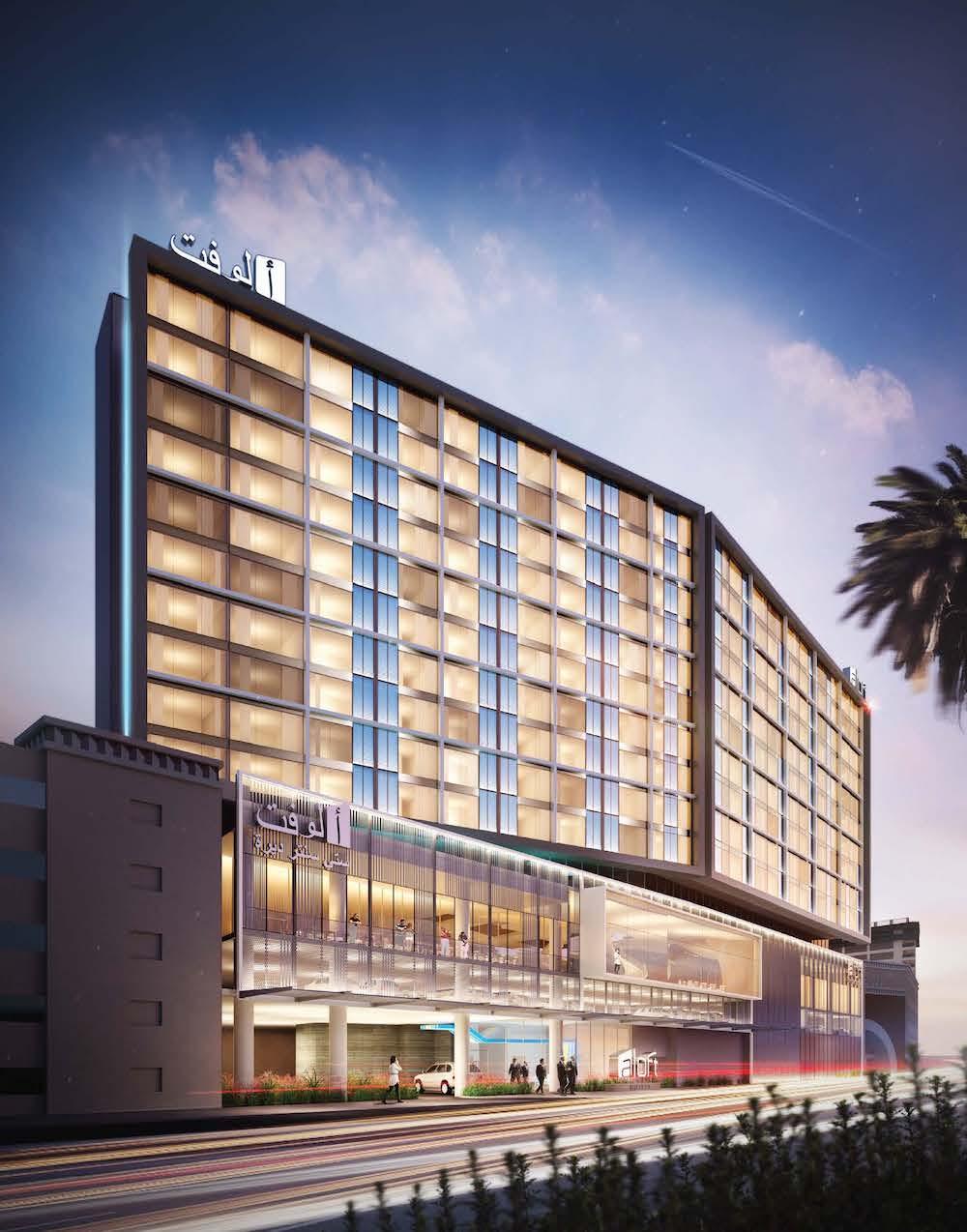 Aloft Hotel, Deira City Centre, Dubai.jpg