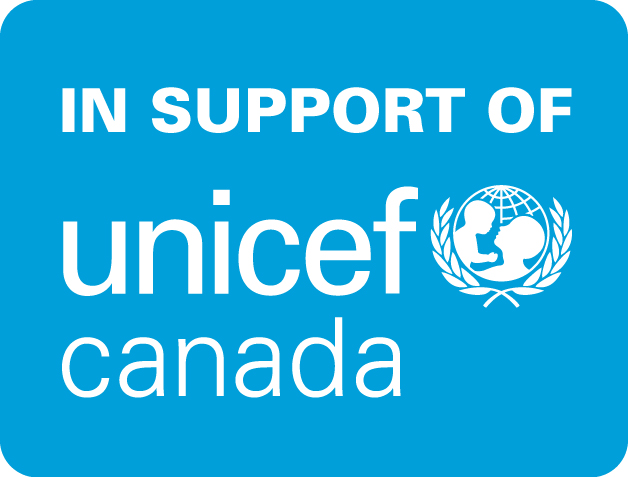 In support of UNICEF Canada