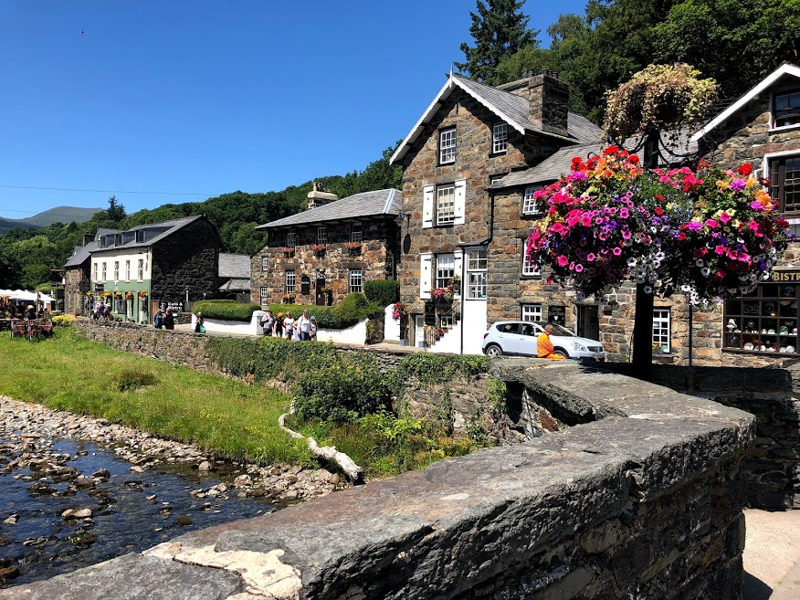 The village of Beddgelert.