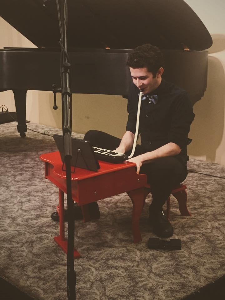 Robert in Concert - Photo: Elizabeth Baker