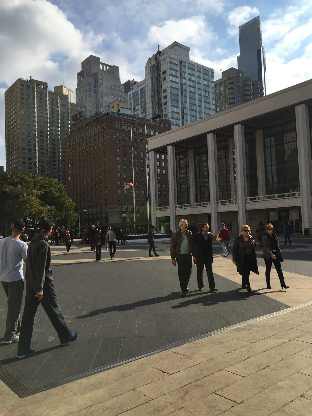 The best part? Lincoln Center is our campus.