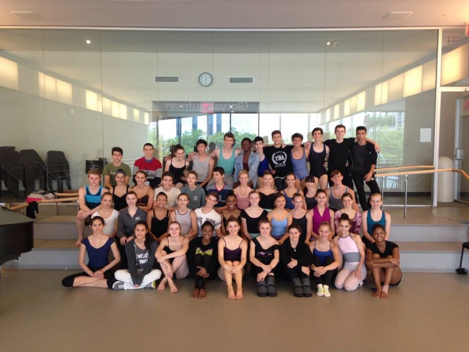 At the Juilliard Summer Intensive in 2014