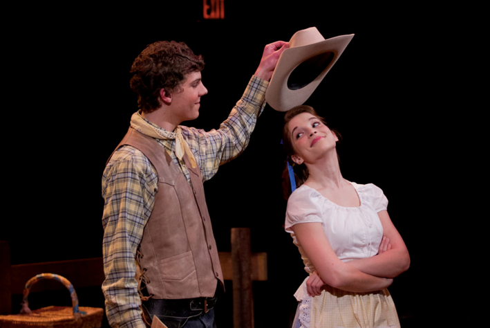 Laurey in Oklahoma was my favorite ingénue role