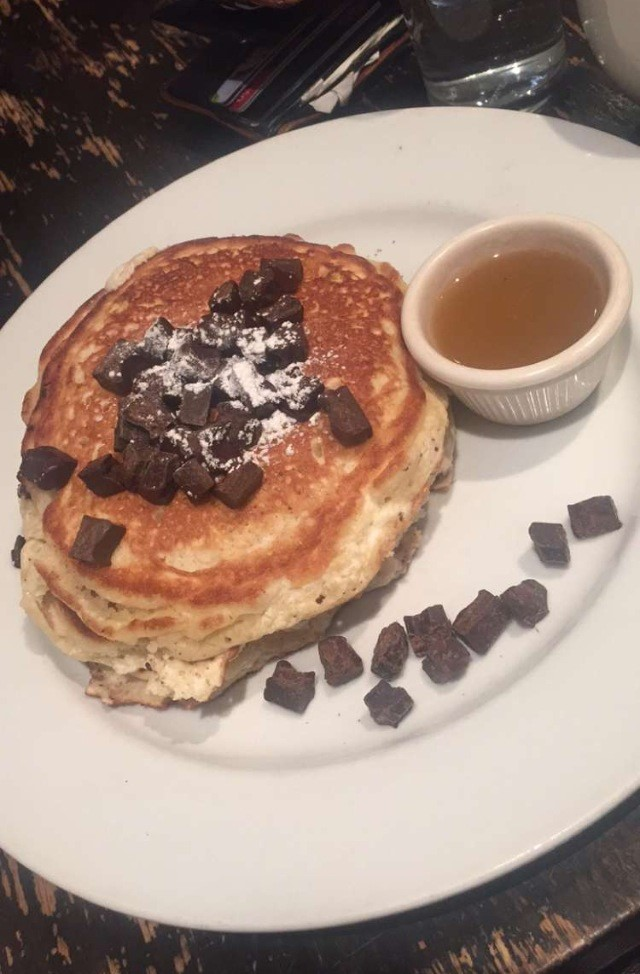 Some REALLY good pancakes I had
