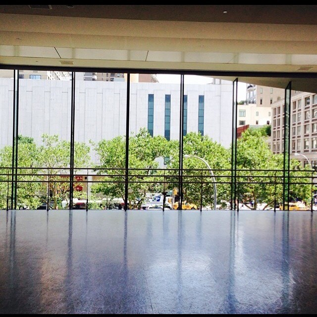 The Kaufman Dance Studio – an absolutely stunning view that looks onto Broadway