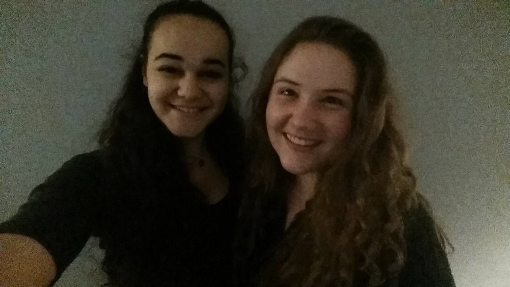 (Me and Gal Pal Lydia)