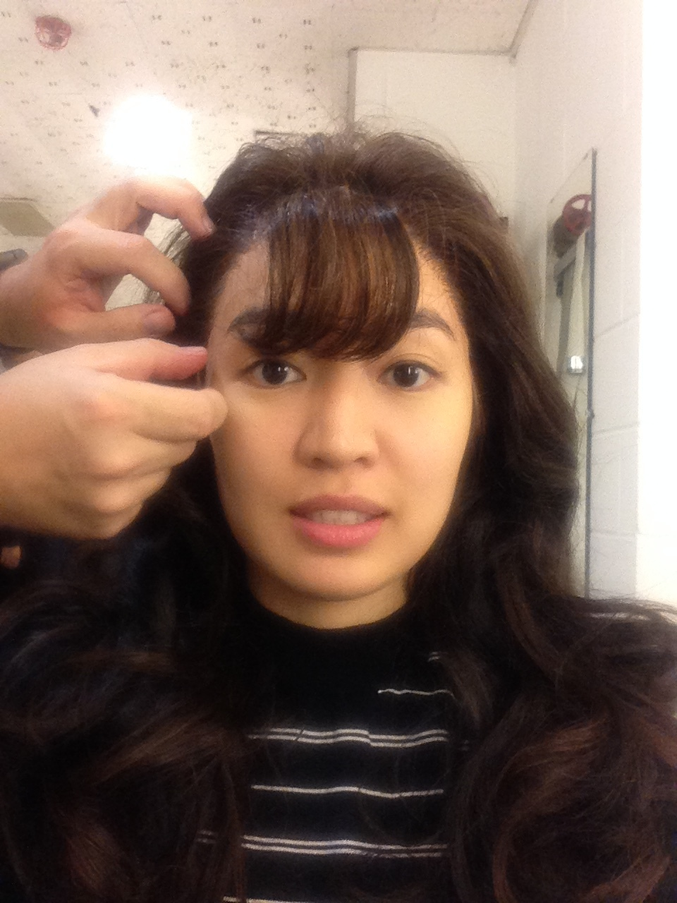 Wig and Makeup testing!