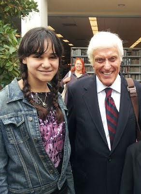 Me with Dick Van Dyke at my first gig in 2012