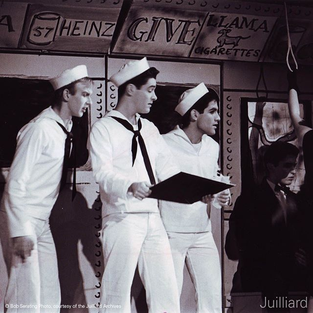 Throwback Thursday: In December 1963, the Juilliard Student Council presented Leonard Bernstein's 'On the Town.' Read more at the link in our bio about Bernstein's legacy at Juilliard and get tickets for our Bernstein Centennial Celebration at @carnegiehall on September 29 at juilliard.edu/calendar! #throwbackthursday #tbt #bernsteinat100 #juilliard #juilliardmusic #leonardbernstein #bernstein #onthetown #music