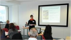 Carole and I discussing our work at a recent Knowledge Exchange Forum