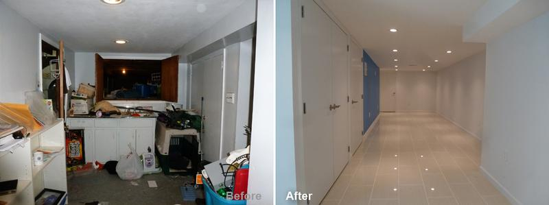 """Review by: Seth L. in Brooklyn, NY       Rating: ★★★★★ 5.00 Project: Remodel a Basement       Start to Completion: 6 Weeks Comments:""""We needed additional space for our growing family and decided to extend/renovate our basement. Kevin was the only contractor who wanted to do the job due to the extensive dig out. He sat with us to discuss the design of our new basement, potential issues and cost of the job. We never expected the job to progress so quickly, the basement was completed in 6 weeks!!! Kevin's crew showed up every day on time, kept us informed and responded to our questions (true professionals). They made the whole process easy, not stressful at all. Our basement has been transformed, it's better than we could have imagined. We are fortunate to have found Kevin and we would recommend him to anyone."""""""
