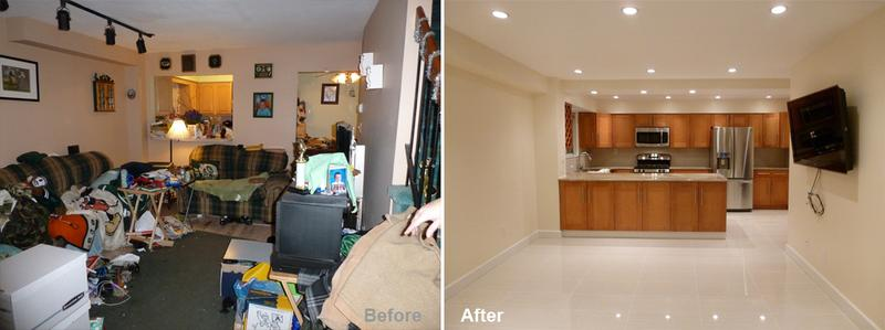"""Review by: Eileen L. in Staten Island, NY     Rating: ★★★★★ 5.00 Project: Remodel One or More RoomsStart to Completion: 3.5 Weeks Comments:""""This was my 1st big renovation and Kevin Parker easied my concerns. The workers were great and completed the job beyond my expectations! My neighbors are all jealous of my now fabulous kitchen & living room!"""""""