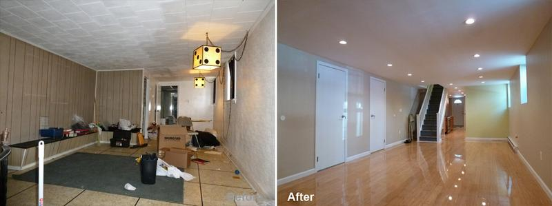 """Review by: Jennifer W. in Brooklyn, NY      Rating: ★★★★★ 4.67 Project: Remodel a Basement         Start to Completion: 6 Weeks Comments:""""The demolition of a whole basement. and remodeled it. The job was a clean and neat and the boss Mr. Parker listened to all concerns my son and I wanted during the process - although I did not seem clear sometime. the job was finished on the given time he stated. the job was very expensive - but the friends who saw the before and after stated it was a very good job. I will recommend this company to others."""""""