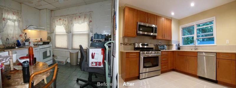 """Review by: Ken S. in Jamaica, NY       Rating: ★★★★★ 5.00 Project: Remodel a Kitchen         Start to Completion: 2.5 Weeks Comments:""""We had our Kitchen completely remodeled. We spoke with a lot of contractors about our project; but on the first meeting with Kevin we knew he was the guy for us. Our project was postponed for a year and his card stayed in our Kitchen until the time came, I couldn't wait to call Kevin back to do the job. I couldn't be happier with his vision and the completed job. The process was as painless as possible and his crew was very respectful of our home and kept things as clean as possible. The gentlemen worked so well together I was so impressed by their skill level. If Kevin said they could do it, it was done. They are all masters in their field of work. If you need work done on your home Kevin and his crew will make you a deal you won't want to pass up. I love my Kitchen now, it was along time coming but definitely worth the wait. They delivered a few days earlier than expected that was just a little icing for my cake. You will be so happy with Kevin give him a call you wont be sorry."""""""
