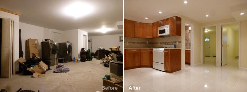 """Review by: Nadean P. in Brooklyn, NY    Rating: ★★★★★ 5.00 Project: Remodel a BasementStart to Completion: 4 Weeks Comments:""""Great work to Mr. Parker and His team, they are very professional and working pace is definitely on time. There will not be no complains choosing this company to do your work. They are on point very and neat tidy, all materials they used are of good quality. I got my basement done and I am very pleased with the work my family and friends are much in love with the outcome. I found not one fault."""""""