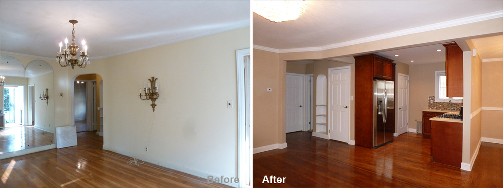 """Review by: Shirley A. in Cambria Heights, NY Rating: ★★★★★ 5.00 Project: Remodel a Full House        Start to Completion: 2 Months Comments:""""I was hesitant to take on a full home renovation for fear of contractors, based on past experiences. Any home renovation project can be extremely stressful, never mind such a large one. I am a person that knows what I want; I pay special attention to detail, and expect quality workmanship. So I said a prayer and began to screen the candidates. Kevin was the answer to my prayers. He put my fears to rest after the first visit. He even had my mom and sister's vote. Kevin listened to my ideas, needs, and concerns, and made some very good suggestions. I chose Kevin because of his ideas, clear planning and scheduling, and reasonable pricing. Kevin is always available via phone/text. He worked with me to incorporate my specific taste. Kevin and his team delivered what he promised a beautiful home, on budget. I receive compliments from family, friends, and even delivery people. Kevin guarantees his work after the job is complete and will send members of his team back to address any issues. I recommend Kevin and the Beyond Designs team and would work with them again. To Kevin and his team: I am extremely grateful to you for transforming my house into my dream home, a home I can be proud of. Thank you."""""""