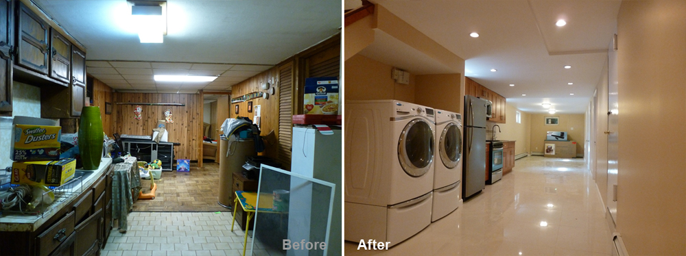 """Review by: Jean J. in Brooklyn, NYRating: ★★★★★ 5.00 Project: Remodel a Basement      Start to Completion: 3.5 Weeks Comments:""""I have to say that my wife and I have never worked with a group so dedicated to their work. Kevin was the perfect contractor for the job. He took us from a journey that was seamless and stress free. The level of communication between us was better than I ever expected and his crew embodies the definition of what being true professional really means. My wife and I had nothing to complain about and Kevin was very detailed. It was an experience that we will never forget and we want thank you Kevin."""""""