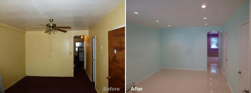 """Review by: Stanley R. in Brooklyn, NYRating: ★★★★★ 5.00 Project: Remodela Mutil-Room       Start to Completion: 4 Weeks Comments: """"Amazing does not even capture Mr. Parker and his teams work. Looking at the before and after pictures does justice to the wonderful work Mr. Parker and his crew did for me. The work was done in a month. He was simply fantastic to work with. He is very patient. We sat and went through every stage of the project together and picked the materials. What I loved about working with him is the fact that he is always ready and available for assist, support and see my vision through. Thanks to him, my apartment is very popular among my friends, family and neighbors. They simply cannot believe the transformation Mr. Parker and his team did. He is very knowledgeable of his work and he does not hesitate to suggest ideas that benefited my project. I highly recommend him to anyone interested in renovating."""""""