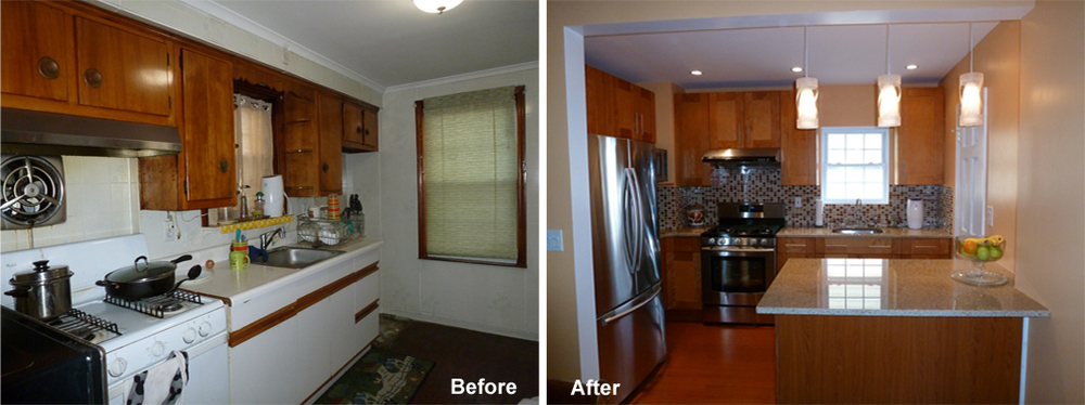 """Review by: Jonathan A. in Queens Village, NY Rating: ★★★★★ 5.00 Project: Remodel a Kitchen       Start to Completion: 2.5 Weeks Comments:""""We made the best decision to chose Kevin to renovate our old kitchen.He was the first one to come to estimate and plan with us and we immediately put our faith in him and we were so thankful that we did that! I didn't imagine our kitchen will look the way we wanted it and even far exceeds out expectations, it's like our DREAM KITCHEN CAME TRUE!!! Mr. Kevin and his workers are very precise , expert and they did their best to accommodate our wants and needs. To KEVIN and your STAFF, our HEARTFELT THANKS TO YOU, WE ARE SOOO ECSTATIC WITH OUR NEW KITCHEN!!"""""""