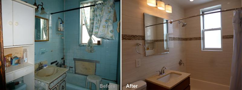 """Review by: Winston F. in Brooklyn, NY       Rating: ★★★★★ 5.00 Project: Remodel a Bathroom        Start to Completion: 2.5 Weeks Comments:""""He's like an artist. I really was surprised by the quality of the work being so good. The materials that were used I didn't even know existed. They are absolute craftsman and so skilled. They cleaned up after everything and focused completely on my job when it was going on. They even accommodated me when I changed my mind on the color of tile, and didn't hesitate to make that change no questions asked."""""""