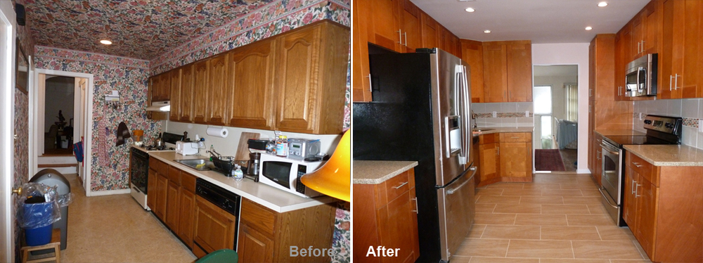 """Review by: Yvette E. in Westbury, NY        Rating: ★★★★★ 5.00 Project: Remodel a Kitchen         Start to Completion: 2.5 Weeks Comments:""""We would like to give an excellent review to Kevin Parker and his team on a new kitchen that they did for us. From the beginning to the end, the process was handled professionally. From the day that we met Kevin, we were confident that we were going to be satisfied with their work. He proposed a new design for the kitchen, it was such a great idea. He told us that it was going to take them 3 weeks to complete the project, however, it was done in 2 weeks. The team was very professional and did an excellent job. They work really hard to complete the project ahead of time. We want to thank Kevin and his team for a job well done. We would refer this team to anyone without hesitation."""""""