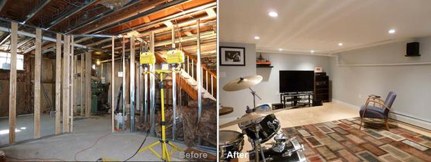 """Review by: Antoine P. in Queens Village, NY  Rating: ★★★★★ 5.00 Project: Remodel a BasementStart to Completion: 5 Weeks Comments:""""My main job called for the complete renovation of my basement including: bath, kitchen and main room. New wiring and plumbing was required as well. After past bad experiences, Kevin Parker put my fears to rest.He listened and came up with a perfect plan (showing samples of various materials that matched our taste and wants) that his crew followed exactly. They were always on time,courteous and professional. They completed on time and budget while also repairing/completing work that was done before. There is not enough room to adequately express how happy we are with the job and Kevin and his fine crew."""