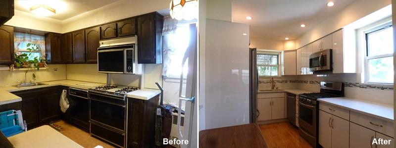 """Review by: Donzella D. in Brooklyn, NY   Rating: ★★★★★ 5.00 Project: Remodel a Kitchen        Start to Completion: 2.5 Weeks Comments:""""Kevin and his team just completed a renovation of my 58 year old kitchen and living room. The team headed by Yin was absolutely professional. They were very punctual, precise, polite and honest. They not only listened to my ideas, they gave sound feedback and advice and I came to trust their judgment totally. They focused on their project as if it was their own home. The timing of the project was as projected but the outcome was far superior than projected. It has given the entire house a beautiful face lift, took years off the look and added tremendous dollar value to the house. I would use this team over and over again. There is no home renovation job that I will not give them in the future. The quality of the performance is way above what is available in the marketplace. I have recommended Beyond Designs to others and those who have seen my new home are very impressed. At the end of the job they cleaned up everything and left it in showroom fashion. For anyone looking to remodel, this is the closest to perfect team around, above and beyond one's expectations and well worth the price. Thanks Beyond Designs!"""""""