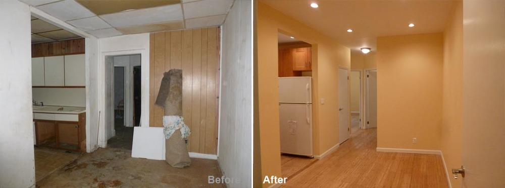 """Review by: Rose H. in East Elmhurst, NY     Rating: ★★★★★ 4.90 Project: Remodel a Apartment      Start to Completion: 4 Weeks Comments:""""Work that was put into this apartment went beyond my expectations. Kevin was a true professional by keeping his word and staying in touch with me through out the project. I'm so satisfied with the work done on the whole apartment. I would gladly recommend him to anyone, thank you so much."""""""