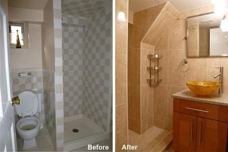 """Review by: Pratima S. in Hollis, NY          Rating: ★★★★★ 5.00 Project: Remodel a Bathroom         Start to Completion: 2 Weeks Comments:""""The team and quality of work was superb. It was very easy to communicate with Kevin and his team which made the project stress free. Overall, the experience was a pleasant one and I would definitely chose this team again for any upcoming project that I may have""""."""