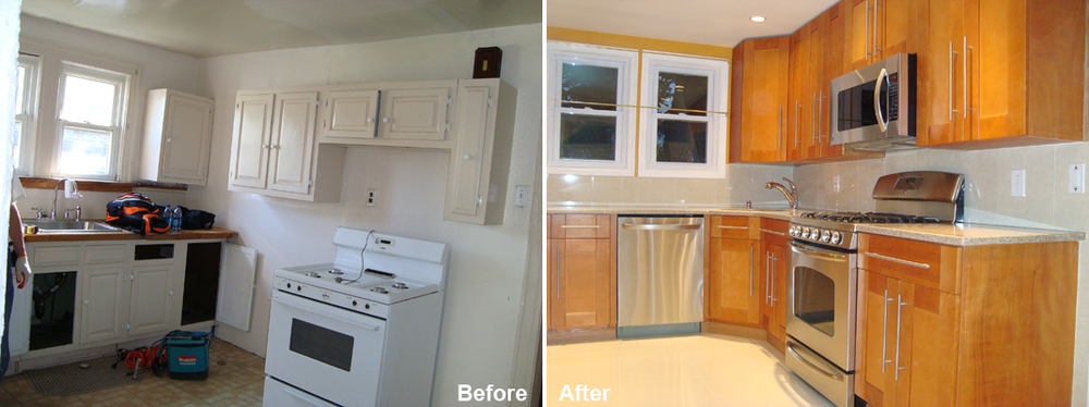 """Review by: Judith M. in Fresh Meadows, NY Rating: ★★★★★ 5.00 Project: Remodel a Kitchen        Start to Completion: 2.5 Weeks Comments:""""Everything promised was delivered plus job was completed ahead of schedule. Workers were professional and pleasant."""""""