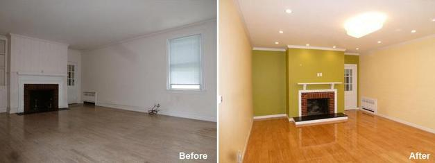 "Review by DR V. in Franklin Square, NY             Rating: ★★★★★ 5.00 Project: Remodel a Mutil-Room                    Start to Completion: 4 Weeks Comments: ""I am very pleased to write a review about Beyond Designs and remodeling. I am very happy with the work. Special Thanks to Mr. Parker and Yin. When I got a door hanger in Brooklyn, somehow I Saved till I bought a house in long island. I asked for initial consultation, Kevin was very prompt and went over every detail of what we needed for remodeling our kitchen and living room. He is the only builder who gives more than 50 references. I spoke to some and everyone was very happy with his work. The whole team was professional. They came everyday and took care of remodeling. The timeline was maintained and in no time it was ready. They kept their word and stood by us till all appliances delivered. I am very impressed and glad I chose Beyond Designs. Even I got my other floor replaced by bamboo flooring by them. Kevin never pressurized about Money, his focus was getting the job done in right way and in right time. That is a great quality. I am thankful to Beyond Designs and entire team. I would highly recommend Beyond Designs and remodeling to anyone for stress free and high quality remodeling."""