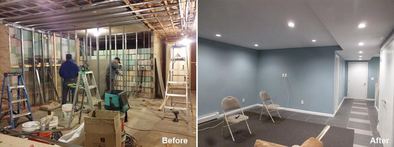 "Review by Lubina B. in Brooklyn, NY            Rating: ★★★★★ 5.00 Project: Remodel a Basement                 Start to Completion: 4 Weeks Comments: ""My name is Lubina and I wanted to write a quick review of your services. I contracted your company to renovate my basement. I was very impressed with the work done by this company! They were able to expand the space in my basement by knocking down a wall and building a whole new bathroom! The workers were friendly and professional and worked efficiently. I was also pleased with the quality of the work and felt comfortable letting the workers know when I wanted something to be done differently. They were very responsive and worked accordingly. I would definitely recommend Beyond Designs to my friends and family! Thank you very much for your services."""