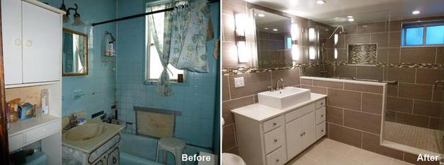 """Review by: Rodney W. in Brooklyn, NY      Rating: ★★★★★ 5.00 Project: Remodel a Bathroom        Start to Completion: 3 Weeks Comments:""""We had two bathrooms remodeled. Working with Mr. Parker has been a positive experience from the get go. He explained the process to us from beginning to end clearly and patiently answered all our concerns. Demolition and construction were as neat as possible. The workers were professional and timely. Overall, our construction experience with Beyond Designs and Remodeling, was very positive and we would call them again for future construction projects.Thank you again!"""""""