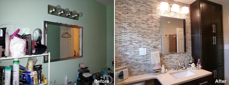 """Review by Eileen.L in Staten Island, NY     Rating: ★★★★★ 5.00 Project: Remodel a Bathroom             Start to Completion: 2 Weeks Comments:""""This is my second renovation with Kevin and I am very happy with my new bathroom. Kevin and his team are extremely talented and professional. I still can't believe how beautiful my bathroom is and what a difference from the original bathroom. Kevin and all of his employees are wonderful and I can't say enough about their care and concern for me and my son during the renovation. His team does amazing work and now I have a beautiful downstairs and upstairs bathroom. They are trustful and knowledgeable and I never have to worry about the end results."""""""