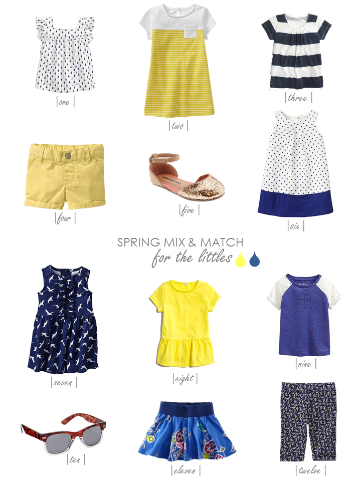 Conflicted Pixie Spring Wardrobe for kids