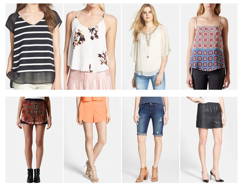 Best of Nordstrom Sale Summer Tops and Shorts
