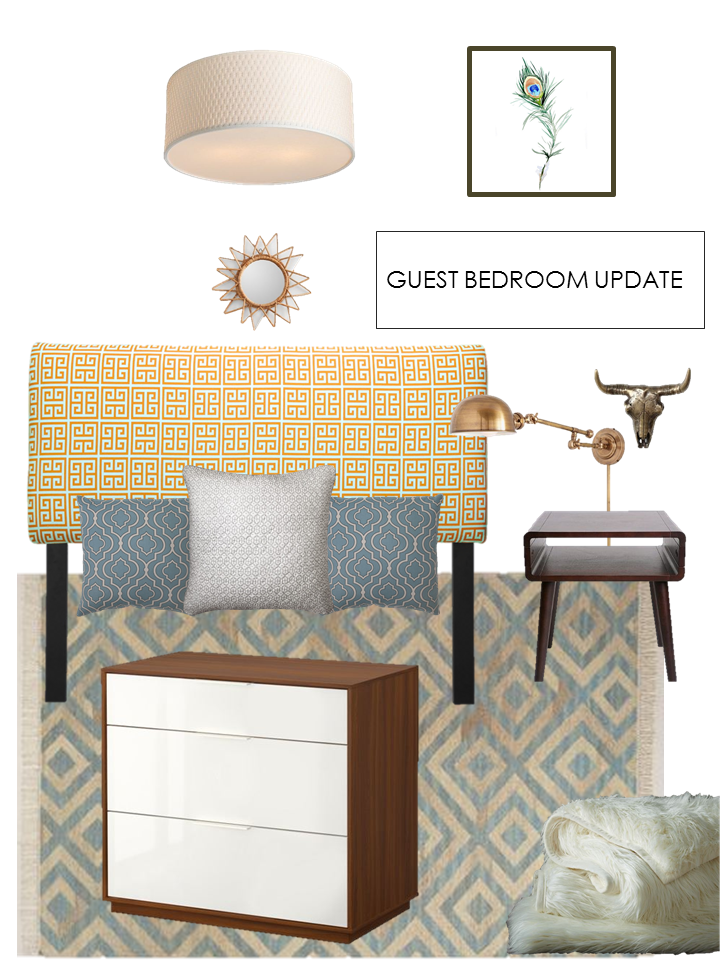 Guest Bedroom Update