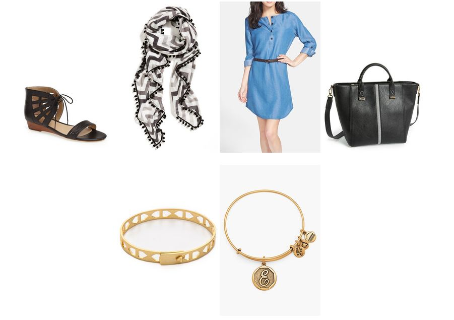 Chambray Dress Conflicted Pixie Keaton Row Lookbook
