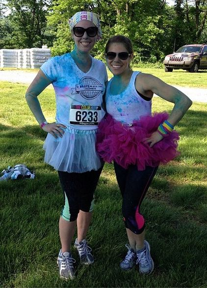The Color Run Conflicted Pixie