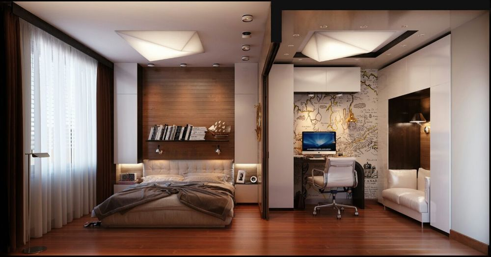 Studio Apartment Bedroom Interior Design Hompassion