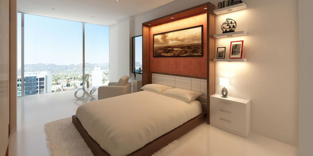 Modern Bedroom 2 Interior Design Hompassion