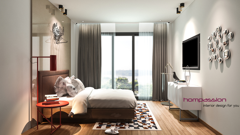 Contemporary Bedroom Designs Interior Designers In Mumbai Hompassion
