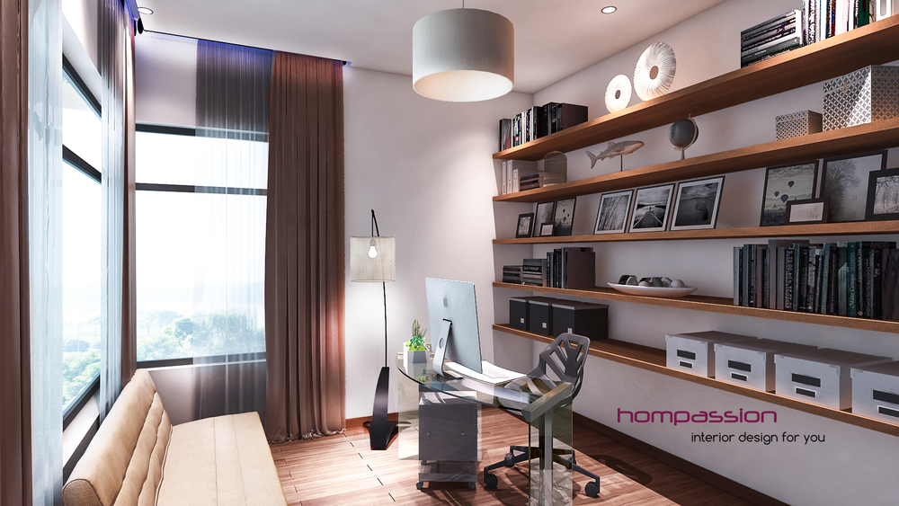 Home Office Interior Designers In Mumbai Hompassion 1