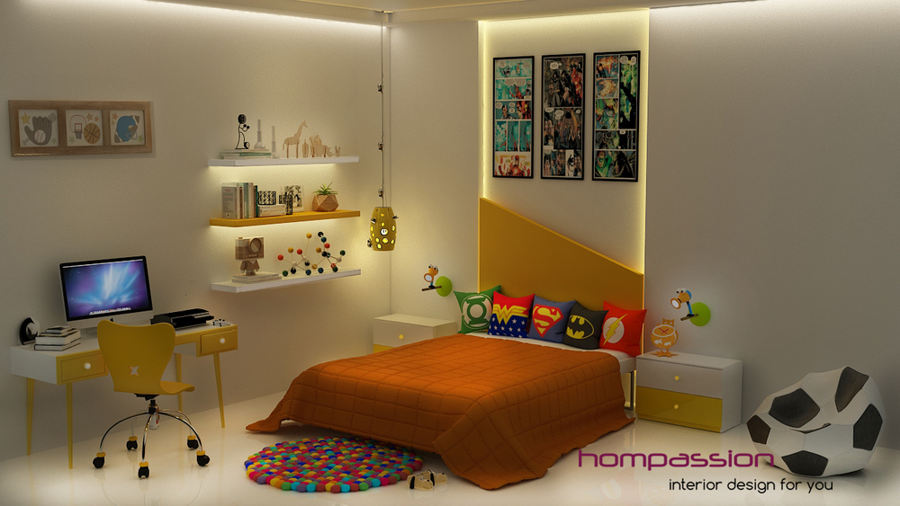 Childrens Bedroom Designs Interior Designers Mumbai Hompassion