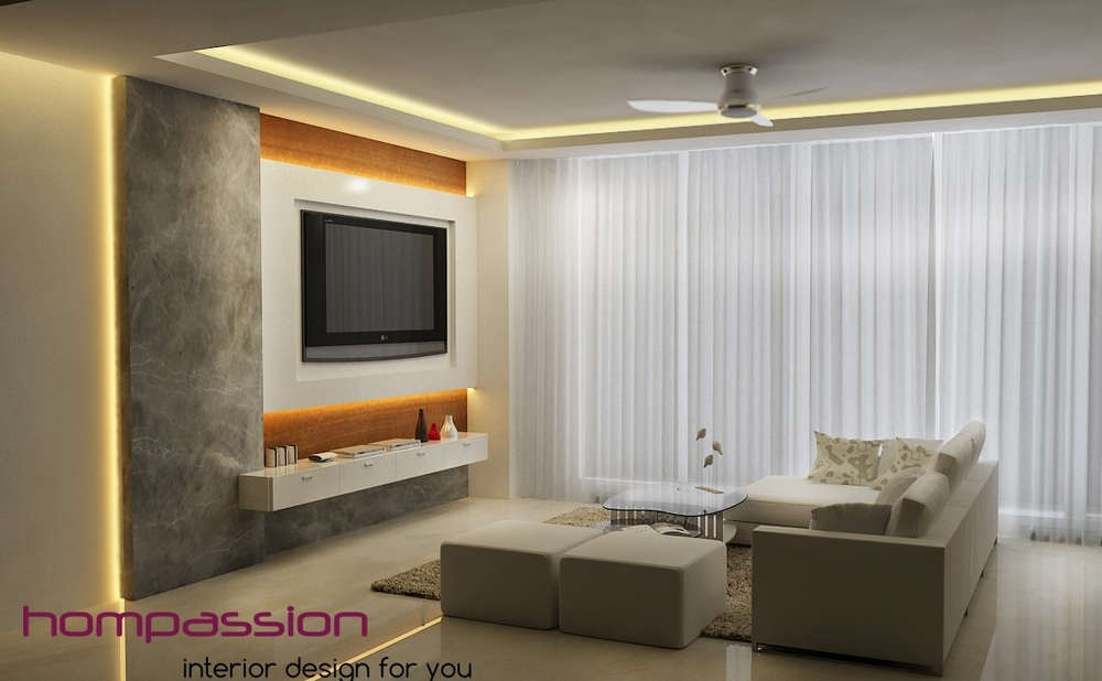 Tv Wall Designs Interior Designers In Mumbai Oberoi