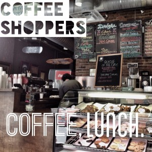 coffee, lunch.