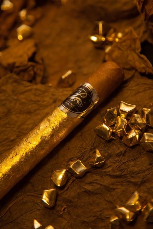 Gold Line  - Cigares enrobés d'une feuille d'or 24 carats